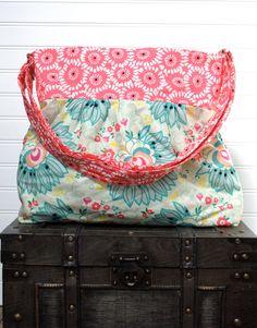 Floral Large Diaper Bag  Stroller Bag  Baby by PreciousLittleTot, $124.99