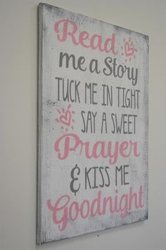 Wood Signs Sayings, Diy Wood Signs, Sign Quotes, Cute Teen Rooms, Girl Sign, Teen Girl Bedrooms, Little Girl Rooms, Baby Room, Kids Room