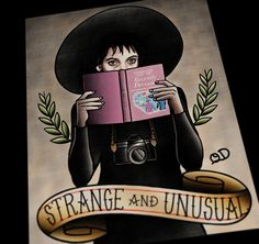 """I myself am strange and unusual."" - Beetlejuice"