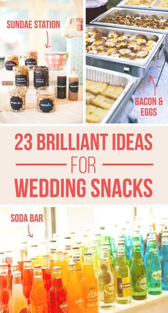 23 Brilliant Wedding Wedding Bars From Couples Who Dared To Dream