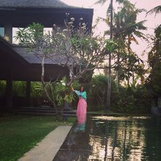 I fall in love with the house, the pool and the garden❤️PARADISE❤️Bali