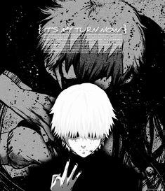 「 The two mix together, both facing destruction.」Kaneki Ken- Tokyo Ghoul