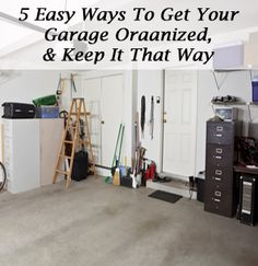1. Put your seasonal bins up behind the garage door. We built big shelves that are above the garage door. You can only see them when the garage is closed and you are in the garage, which is almost never. And no one else can see them when the garage …