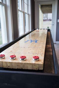 DIY shuffle table!
