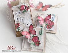 scrap-ścinki: Romantyczne małe formy ... Gift Wrapping, Gifts, Gift Wrapping Paper, Presents, Wrapping Gifts, Favors, Gift Packaging, Gift