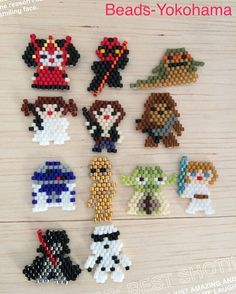I can make these. Brick stitch. …