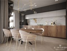 Interior Design Kitchen, Home Kitchens, The Hamptons, Living Room Designs, Sweet Home, Dining, Table, House, Inspiration