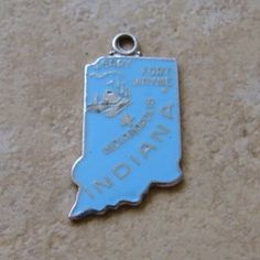 Wells Sterling Indiana Charm