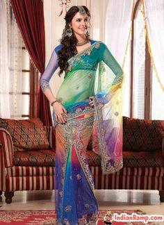 sarees | Designer Party Wear Sarees, Wedding Collection Sarees Online 2013 ...