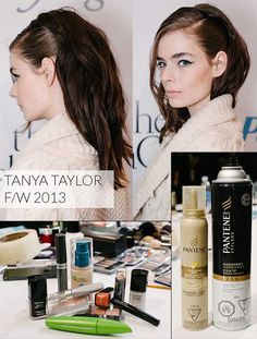 Tanya Taylor FW 2013 Makeup and Hair