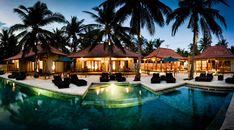 Quiet resort located just a short stroll from Gili Trawangan's famed sunset beach.