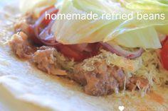 Homemade Refried Beans - The Veggie Mama