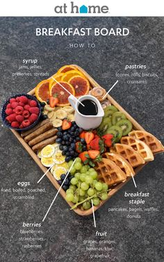 Breakfast Picnic, Breakfast On The Beach, Breakfast Platter, Sweet Breakfast, Eid Breakfast, Charcuterie Recipes, Charcuterie And Cheese Board, Party Food Platters, Brunch Party
