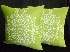 lime pillows