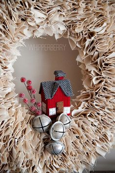 Wonderful Winter Wreath Projects - The Cottage Market