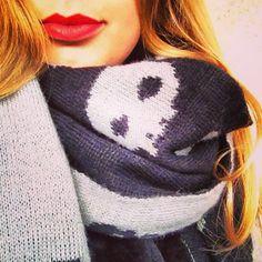Skull scarf!