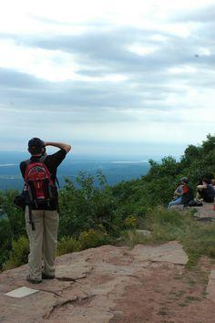 View from Catskill Mountain House Site at North South Lake Campground - NYSDEC Campgrounds