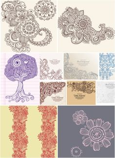 lace-floral-ornaments-vector.jpg (800×1100)