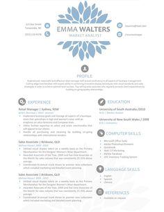 httpwwwresumeshoppecomshopemma resume creative resume templatesprofessional - Resume Template For Professionals