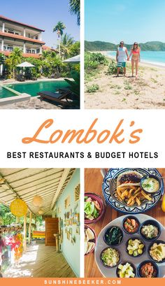 The cheapest destination I've visited so far also happens to be one of my absolute favorites. A guide to Lombok's best restaurants and budget hotels!