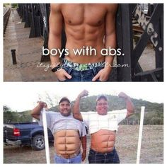 Boys with Abs