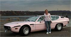 1974 Lamborghini Espada station wagon...the coolest pink spaceship I've ever seen