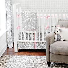 Gray Glam Baby Bedding from PoshTots