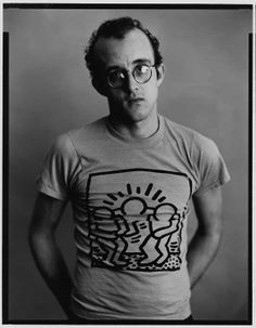 Keith Haring by Timothy Greenfield-Sanders