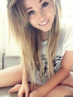 Cute blonde 13 year old girls