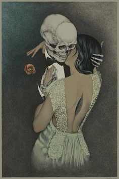A death feel in love with an alive. An alive feel in love with a death.
