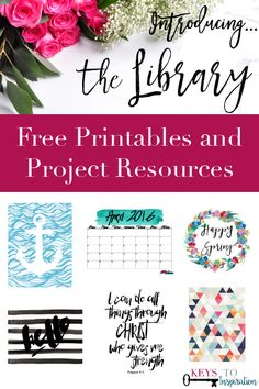 Tons of FREE printables and downloads! You have to check it out - Click through