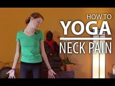 Yoga for Neck Pain, Neck Tension, Headaches, & Shoulder Pain Relief - YouTube