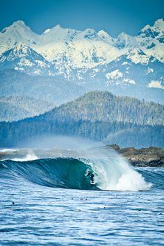 Pete Devries, Canadian Pacific surf