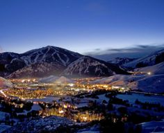 Ketchum, Idaho. With a village like this, it's no wonder it is on our list of Quaint Ski Towns. That is marvelous.