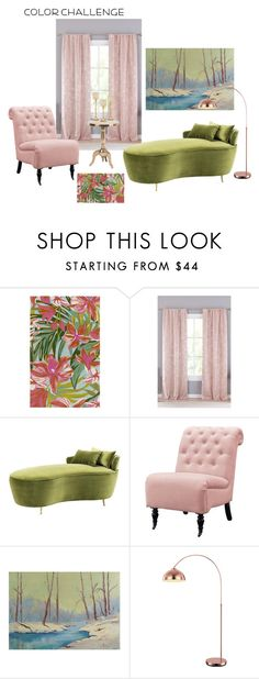 """""""Color challeng"""" by margaretkellogg on Polyvore featuring interior, interiors, interior design, home, home decor, interior decorating, Surya, Lala + Bash, Eichholtz and Home Decorators Collection"""