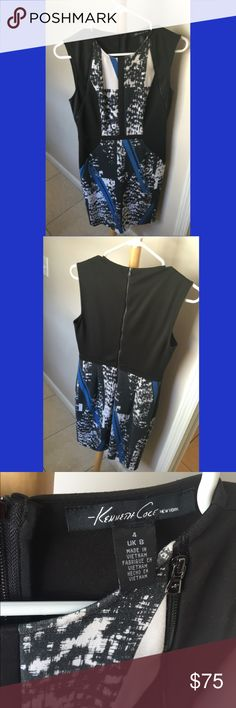 Kenneth Cole Dress, Size 4 Only worn once! Kenneth Cole Dresses