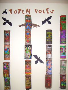 DREAM DRAW CREATE: Totem Poles Grades 7 & 8