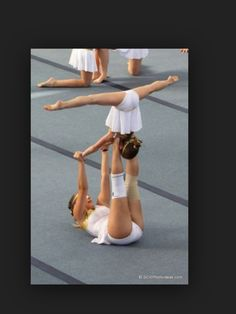 Fun acro trick to try