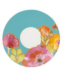 Lenox Dinnerware, Floral Fusion Saucer - Casual Dinnerware - Dining & Entertaining - Macy's