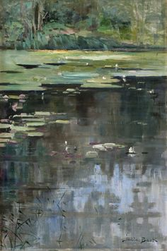 Julia_Beck_River_Landscape_with_Water_Lilies.jpg 1,387×2,095 pixels