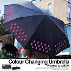 colour changing umbrella(カラーチェンジングアンブレラ)