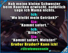Geschwisterliebe #Schwester #Strafe #Geschwister #nurSpaß #Humor