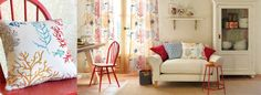 Voyage of Discovery Fabric Collection (source Sanderson) Wallpaper Australia / The Ivory Tower Sanderson Fabric, Osborne And Little, Floral Fabric, Soft Furnishings, Fabric Design, Home Accessories, Love Seat, Upholstery, Contemporary