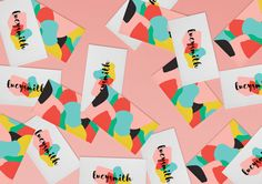 This colourful brief was to create a personal identity for Fashion Designer, Lucy Smith. The logo was to be arty, colourful, with a slightly soft feel to reflect Lucy's personality. The 'whimsical' style of hand-type is contrasted against bold colours t… Bold Colors, Colours, Personal Identity, Whimsical Fashion, Hand Type, Logo Concept, Identity Design, Graphic Design, Fashion Design
