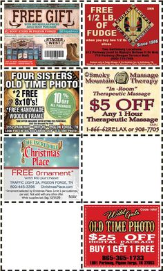Get discounts on shows, attractions and more in Pigeon Forge and Gatlinburg, TN. Gatlinburg Coupons, Four Sisters, All Coupons, Mountain Vacations, Pigeon Forge, Discount Coupons, Free Gifts, Trip Advisor, Mountains