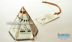 how to make a tipee invitation card - Google Search