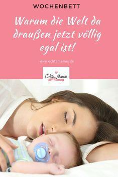 Das Baby ist da – und die meisten Mütter hüten nach der Geburt erstmal das Wochenbett. Warum du das auch auf jeden Fall tun solltest und warum die Welt da draußen jetzt erst mal für neugebackene Mamas völlig egal ist, erfährst du hier. Foto: bigstock #wochenbett