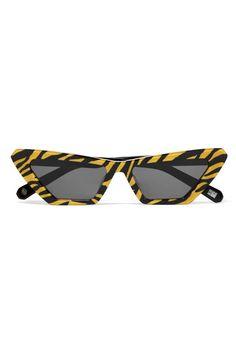 fb671b060b8 Chimi Tiger Printed Cat-Eye Acetate Sunglasses ( 150) Cat Eye Sunglasses