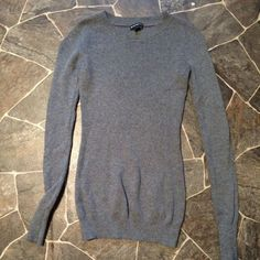Express Sweater Gray Express sweater. No holes or stains Express Sweaters Crew & Scoop Necks