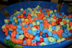 Cut up pool noodles vs buying a million balls